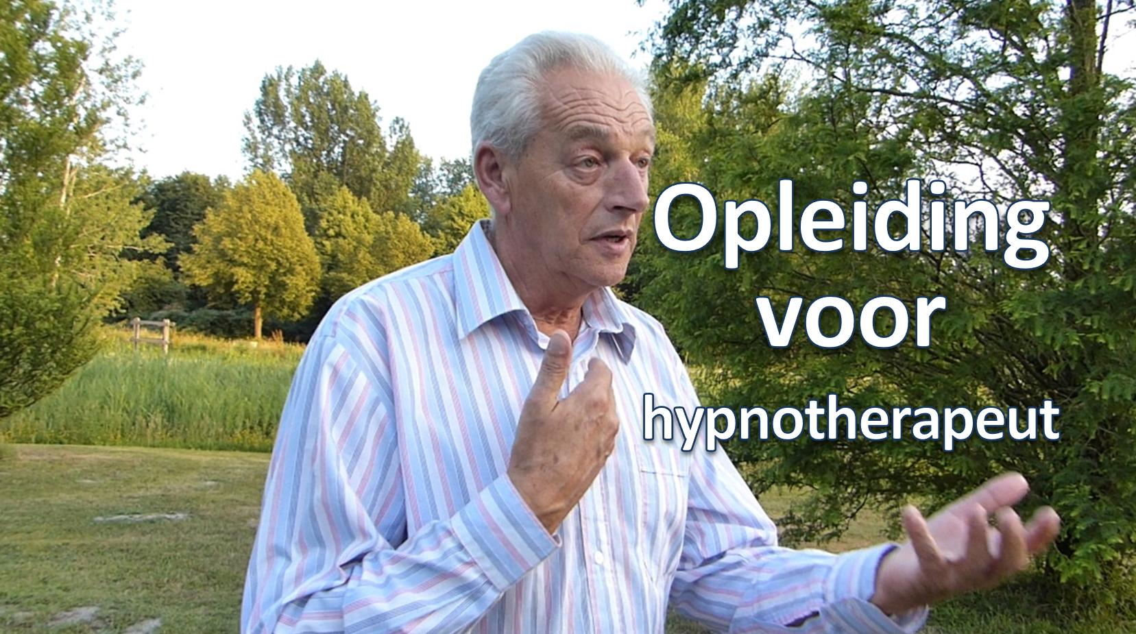Opleiding voor hypnotherapeut